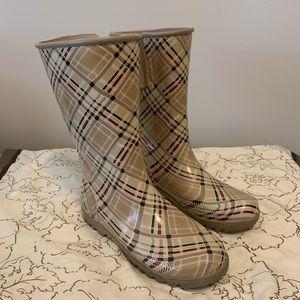 Sperry Topsider Rain Boots Sz 7